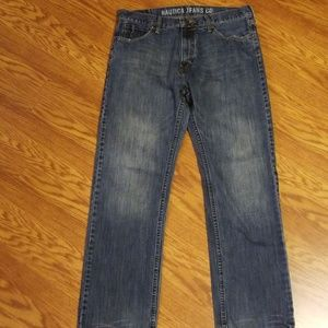 Nautica Relaxed Fit Jeans Size 34 X 32